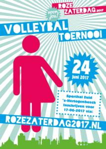 Roze Volleybal Toernooi voor jou!